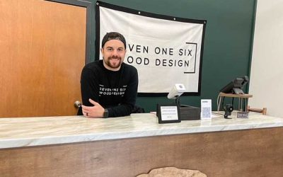 Seven One Six Wood Design is the New Cool Place to Find Handcrafted Wood Pieces