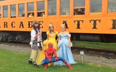 2 Halloween-Themed Train Rides to Enjoy with The Family