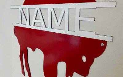 Enter to Win a Customized Retro Buffalo Wall Sign