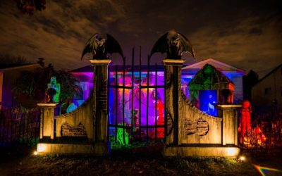 Where to See The Best Halloween Houses in WNY 2021