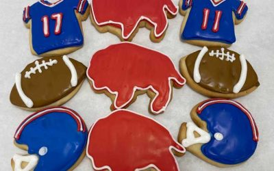 Kick Off Your Game Day With a Buffalo Football Cookie Decorating Kit from Cookies to Decorate