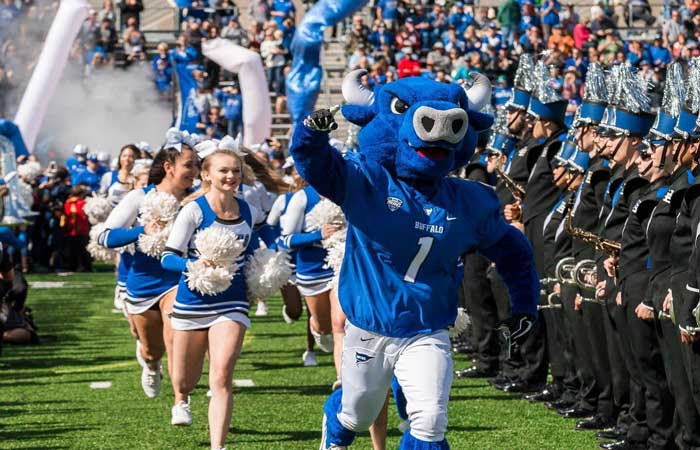 Enter to Win 4 Tickets to the UB Bulls vs BGSU Game from UBMD Physicians' Group